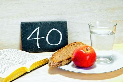 Fastenzeit 40 Tage