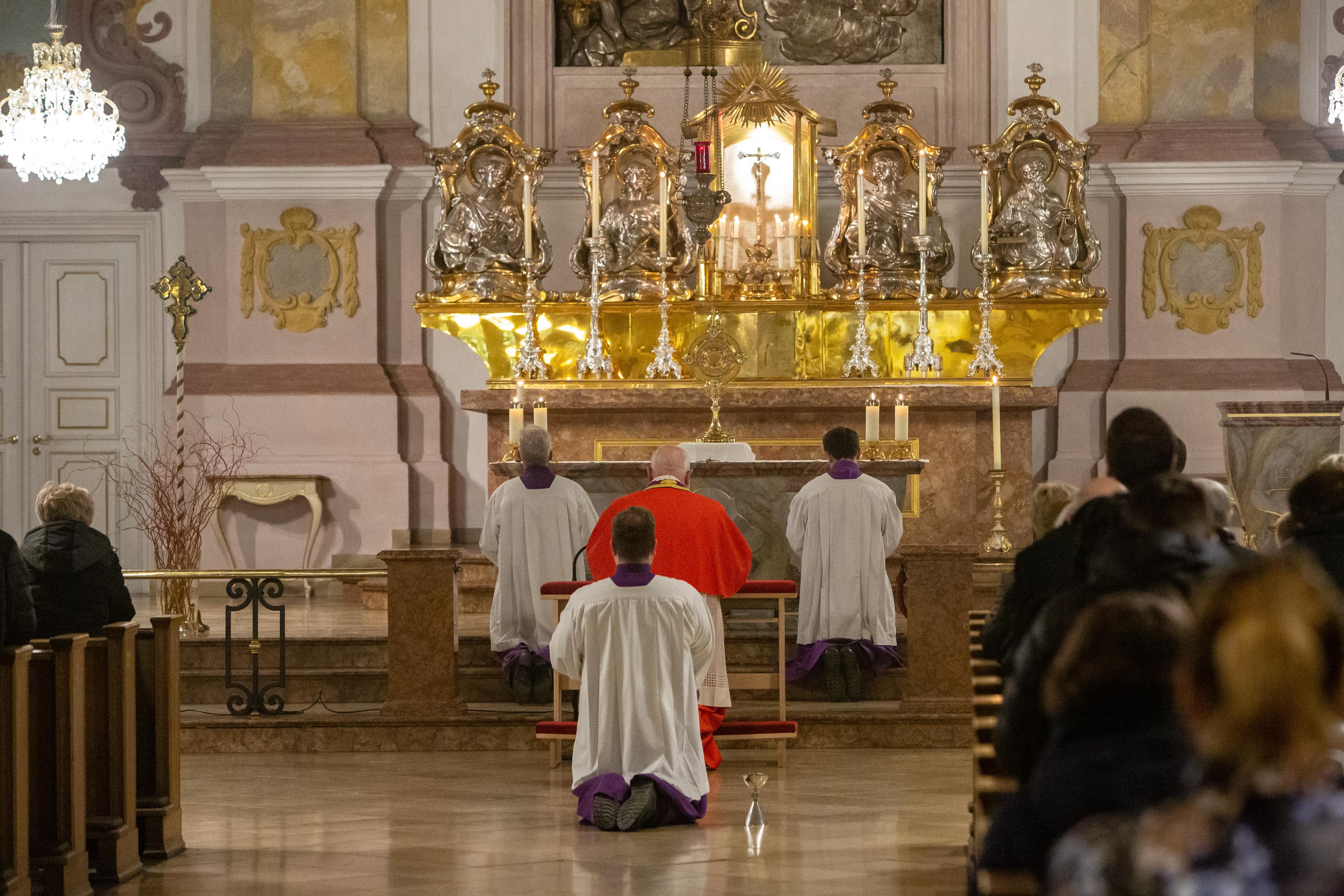 Kirche Beten